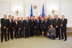 AZS u Prezydenta - przedstawiciele małopolski